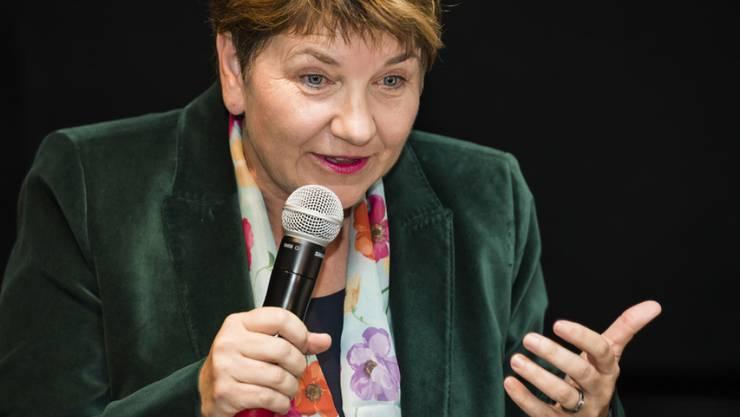 Die Walliser CVP-Nationalrätin Viola Amherd versteht sich als Brückenbauerin mit dem notwendigen Rüstzeug für den Einzug in die Landesregierung.