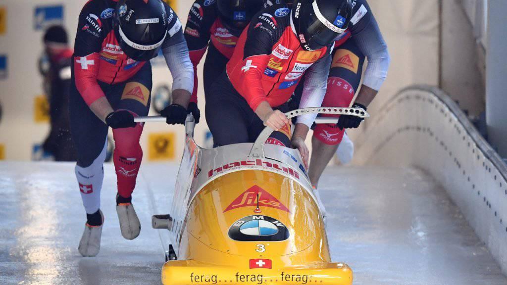 Kein guter Auftakt für die Schweizer Bobfahrer im Viererbob-Weltcup