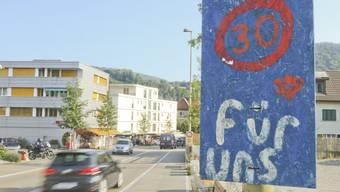 Innerorts nur noch Tempo 30: Die Lausner wollen mehr Sicherheit im Strassenverkehr.