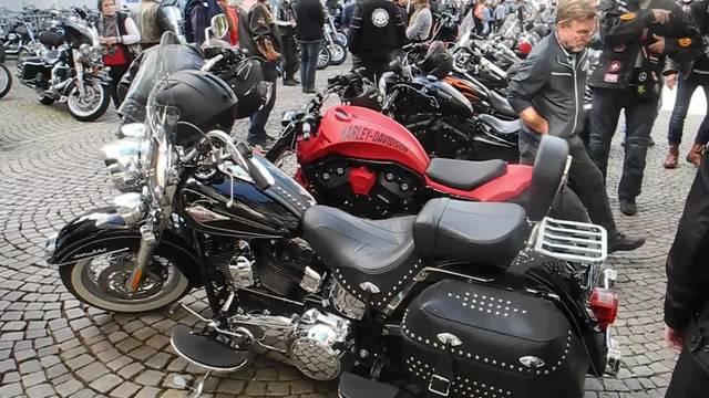 Harleys in Solothurn