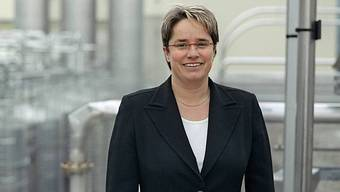 Magdalena Martullo-Blocher, CEO der Ems-Chemie in Domat-Ems (Archiv)