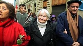 Margot Honecker in Santiago de Chile auf einer Aufnahme aus dem Jahr 2010. Die Witwe von Erich Honecker ist im Alter von 89 Jahren gestorben. (Archiv)