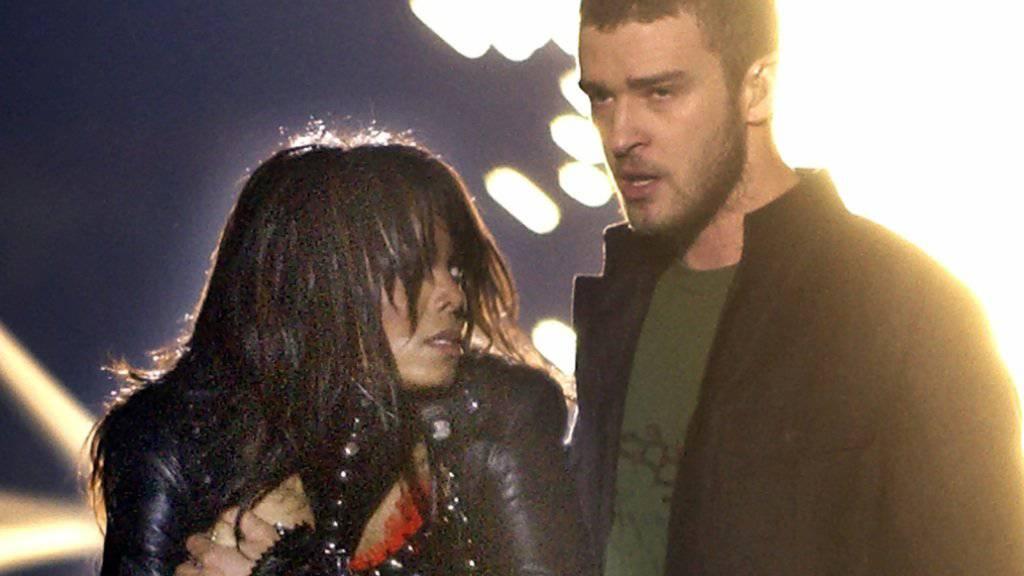 Vor 14 Jahren: Justin Timberlake und Janet Jackson sorgen am Super Bowl in Houston für den «Nipplegate»-Skandal