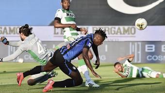 Duvan Zapata schoss zwei Tore beim Sieg von Atalanta Bergamo