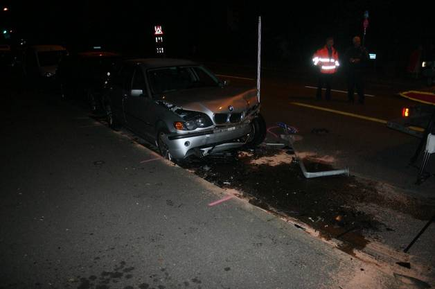 Schwerer Verkehrsunfall weil es Fahrer unwohl war