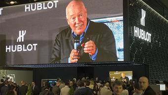 Jean-Claude Biver kündigte die Partnerschaft an, kann aber noch kein Bild der Uhr zeigen.
