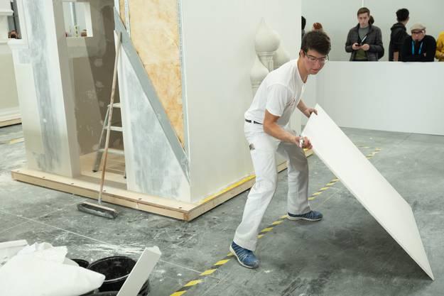 Die Hauptaufgabe: Einen Würfel nach Vorgaben zu bauen.