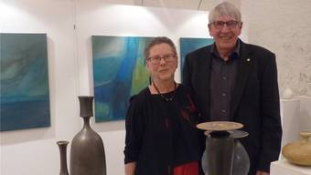 Farben und Formen in Bild und Keramik von Franziska Gloor und Mathies Schwarze. Ingrid Arndt