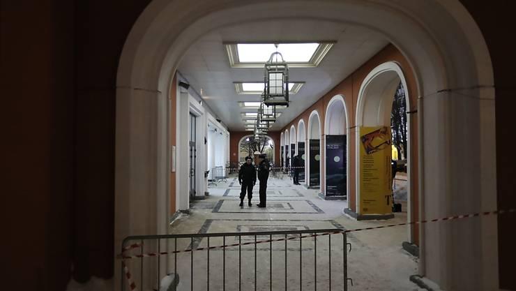 In der Moskauer Tretjakow-Galerie ist am Sonntag unter den Augen der Sicherheitskräfte ein Gemälde gestohlen worden.