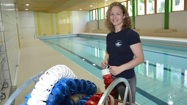 Sandrine Roditscheff möchte zusammen mit ihrem Vater die Vermietung der Birsfelder Schwimmhalle der Gemeinde abnehmen.