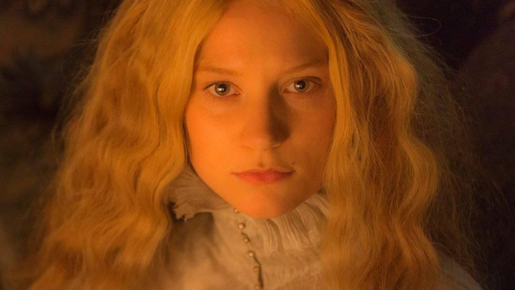 """Mia Wasikowska in """"Crimson Peak."""" (Archiv.)"""