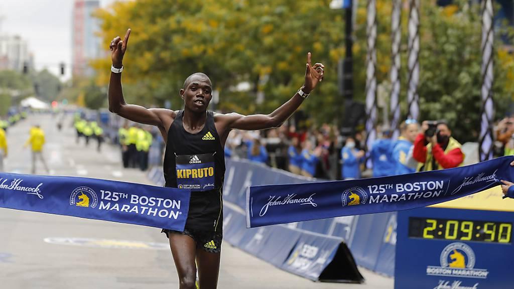 Benson Kipruto siegt beim Boston Marathon