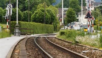 Der Bahnübergang Sandmattstrasse müsste neu gestaltet werden.