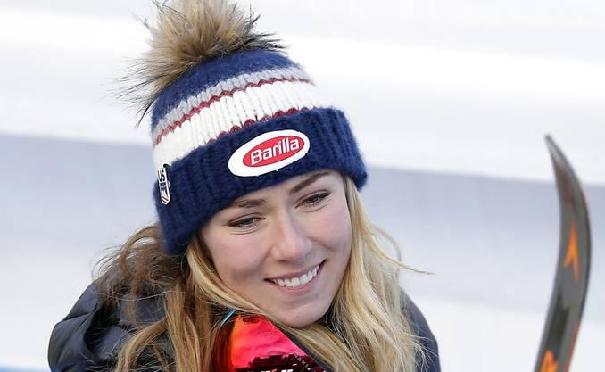 Mikaela Shiffrin - die Slalom-Queen gewinnt erstmals Gold im Speedbereich.