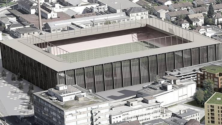Das Stadionprojekt im Torfeld Süd.