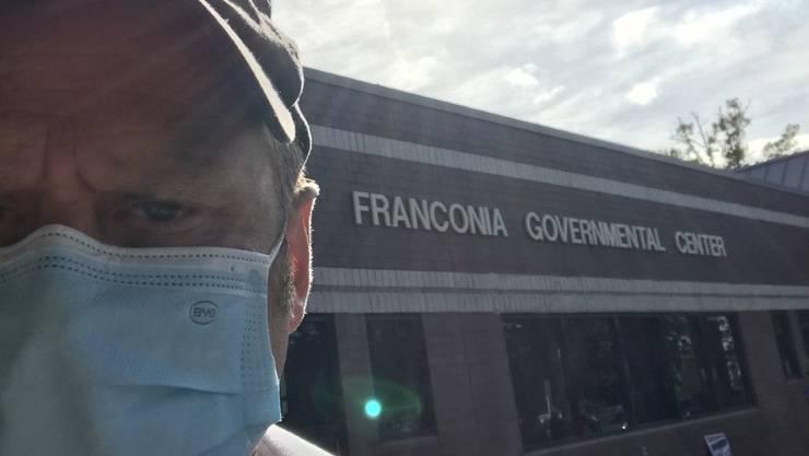 Drei Stunden stand CH-Media-Korrespondent Renzo Ruf in Alexandria in der Warteschlange. Dann ging alles plötzlich ganz schnell.