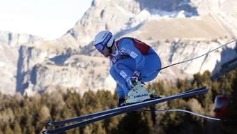 Kjetil Jansrud unterwegs zu seinem dritten Sieg in einem Speed-Rennen diesen Winter.