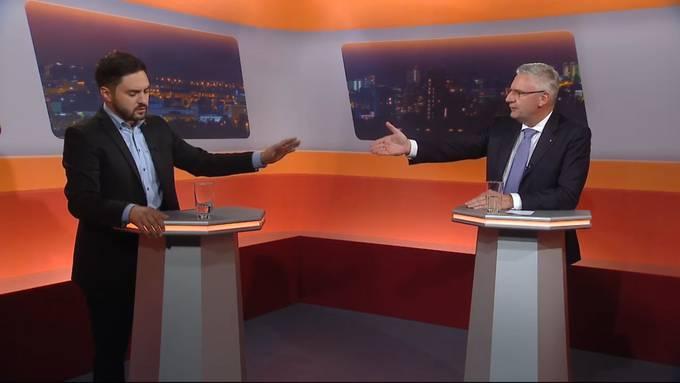 Angriff auf Lohnschutz oder Schutz vor Dichtestress? Die wichtigsten Momente aus dem Talk mit Cédric Wermuth und Andreas Glarner.