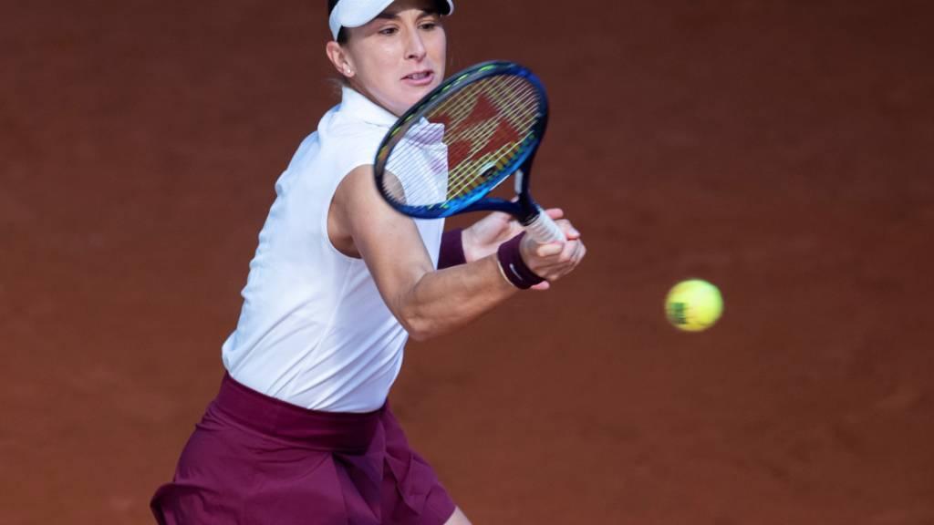 Belinda Bencic war in Rom einmal mehr glücklos: Bei fünf Teilnahmen gewann sie nur zwei Matches