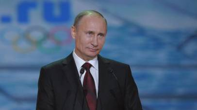 Russlands Präsident Wladimir Putin spricht in Sotschi (Archiv)