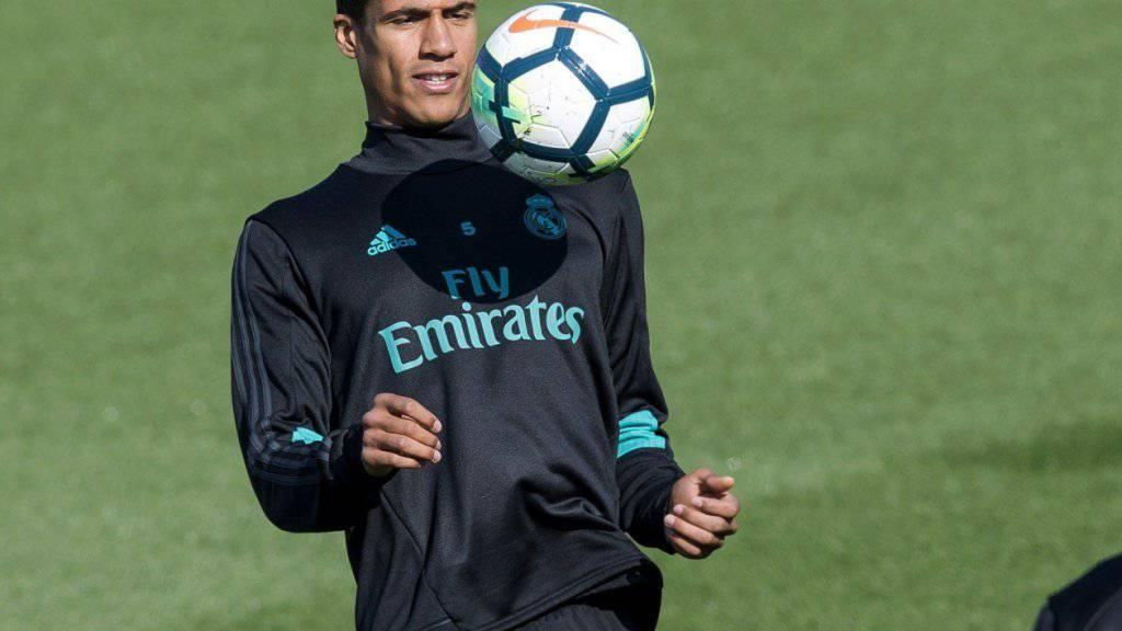 Raphael Varane unterschrieb bei Real Madrid bis 2022.