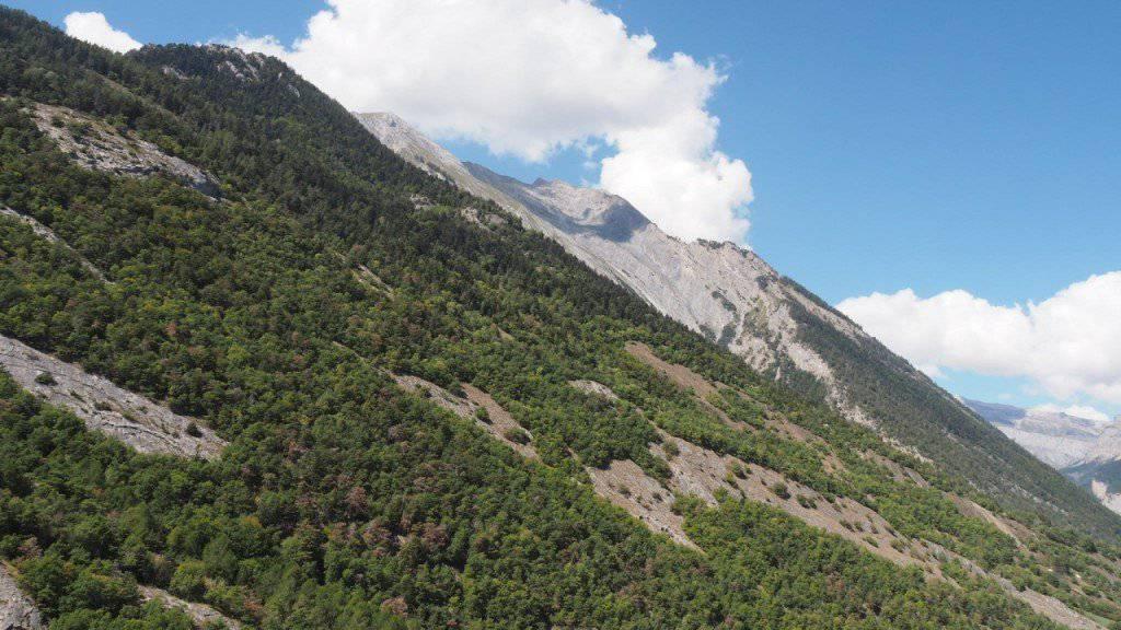 An dieser Bergflanke stürzte der 52-jährige Wingsuit-Flieger aus dem Kanton Freiburg in den Tod.