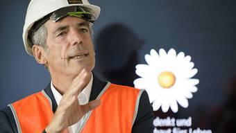 Implenia-Chef Anton Affentranger profitiert vom Anlagenotstand  institutioneller Anleger. Der grösste Baukonzern der Schweiz baut mehr Mietwohnungen als noch vor Jahresfrist. (Archiv)