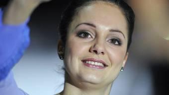Die Eiskunstläuferin Sarah Meier
