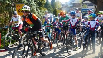 Eröffnung Mountainbike-Route in Schupfart