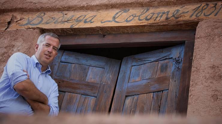 Christoph J. Ehrbar ist der Schwiegersohn von Donald Hess und führt die Weingüter Amalaya und Colomé.