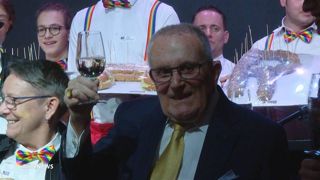 Grosse Geburtstagsfeier für Ernst Ostertag