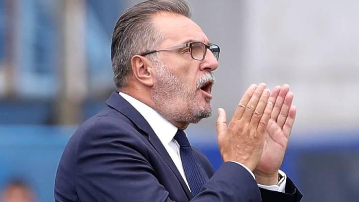 Ante Cacic ist nicht mehr kroatischer Nationaltrainer