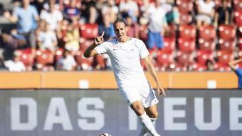 Michael Frey, hier noch im Tenü des FCZ, scheint sich in Nürnberg gut eingelebt zu haben