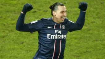 Machte wieder mal den Unterschied für den PSG aus: Ibrahimovic