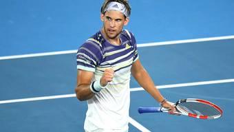 Dominic Thiem steht in den Halbfinals der Australian Open.