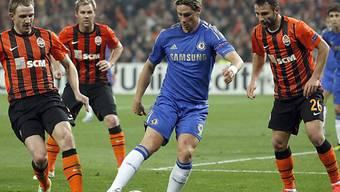 Auch Torres konnte die Niederlage gegen Schachtjor nicht verhindern