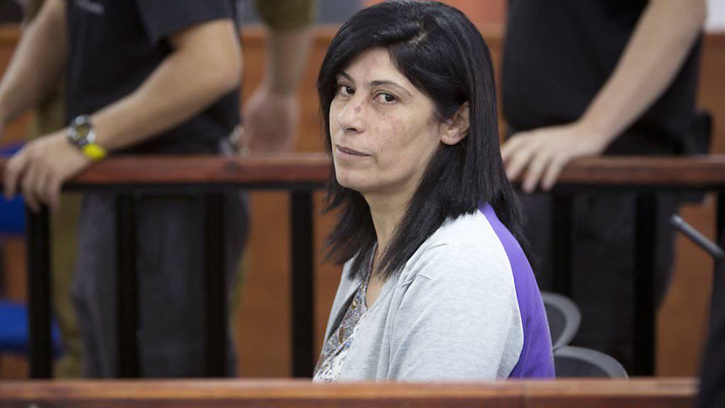 Vor Gericht statt im Parlament: Die palästinensische Abgeordnete Khalida Jarrar (Symbolbild)