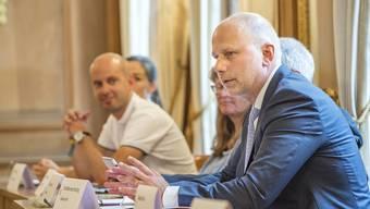 GPK-Präsident Christian von Wartburg arbeitet zwei Tage die Woche für sein Amt