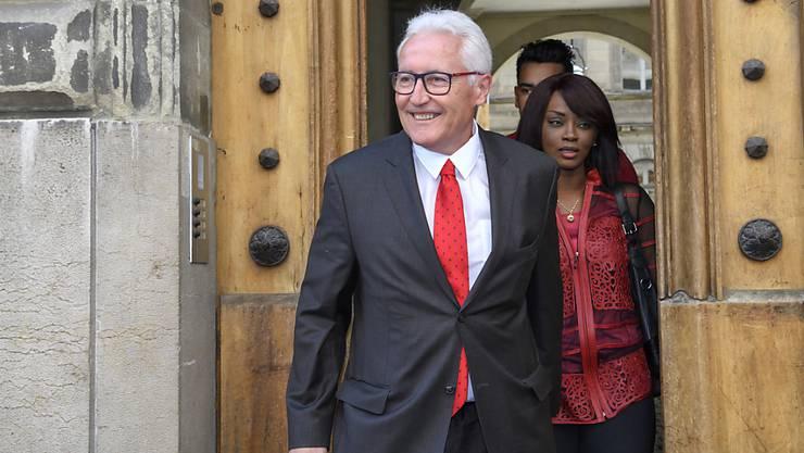 Der Genfer CVP-Staatsrat Luc Barthassat wurde am Sonntag aus der Regierung abgewählt.