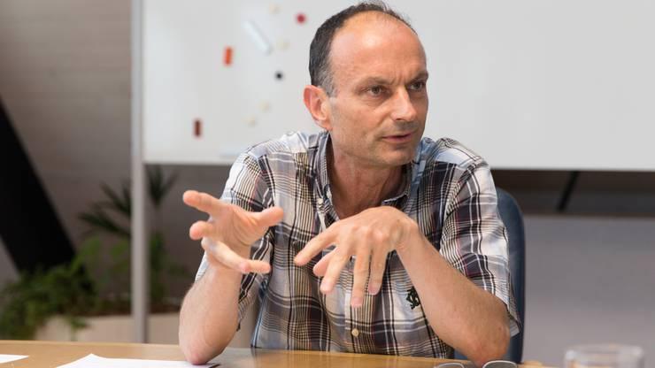 Der Suhr Gemeindepräsident Marco Genoni will, dass sich weitere Wynentaler Gemeinden an den 14 Millionen beteiligen.