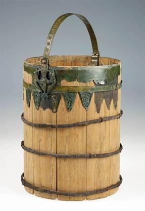 Später entpuppte sich der Fund der «Krone» als Bronzebeschlag eines gewöhnlichen Holzeimers. LVR-LandesMuseum Bonn