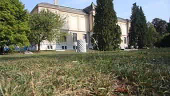 Bald ein Pflanzplätz: das Vorgelände des Kunstmuseums mutiert zum Gartenprojekt.