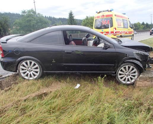 Auch der Opel der Neulenkerin erlitt Totalschaden