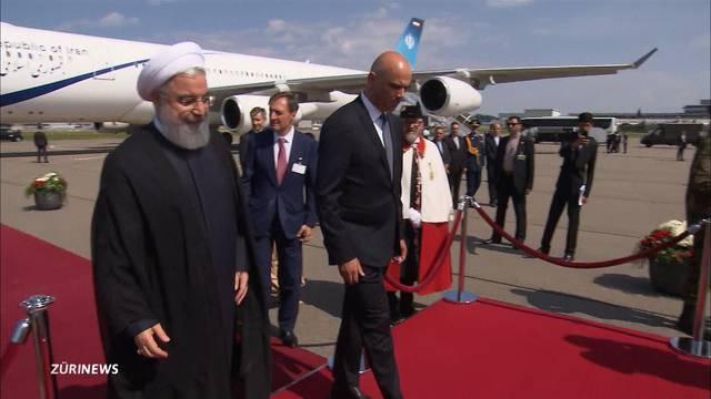 Höchster Besuch aus dem Iran