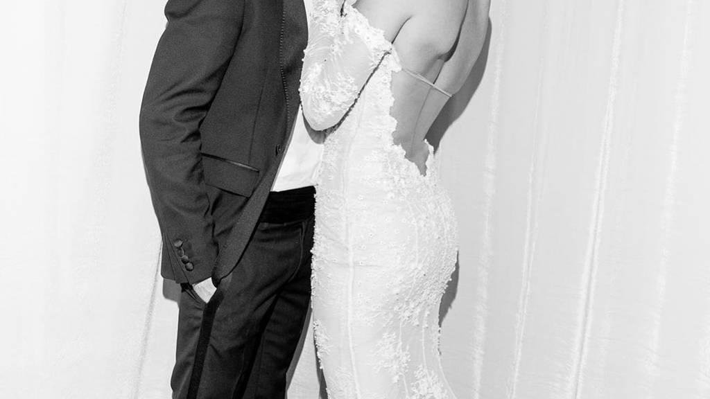 Justin und Hailey Bieber posten Hochzeitsbilder