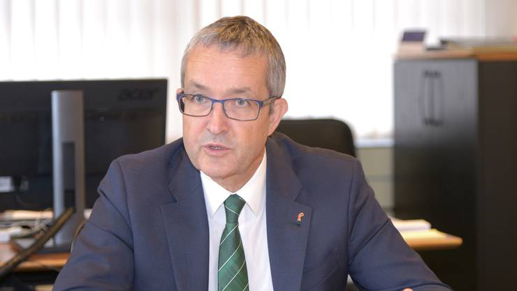 Thomas Weber ist Baselbieter Volkswirtschaftsdirektor und aktueller Regierungspräsident.
