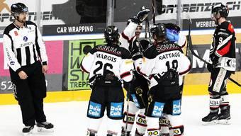 Der EHC Basel fand im Auswärtsspiel gegen Chur zum Siegen zurück.