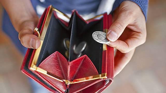 Weniger Geld im Portemonnaie trotz grösserem Lohn