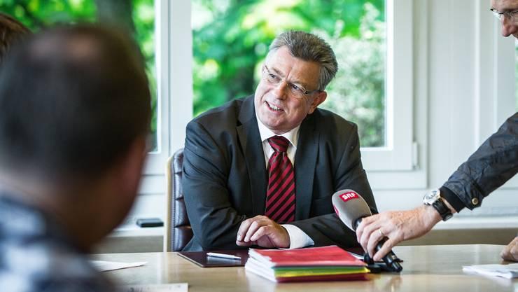 Paul Huwiler nicht mehr Vize-Ammann von Wohlen, aber immer noch im Gemeinderat. (Archiv)