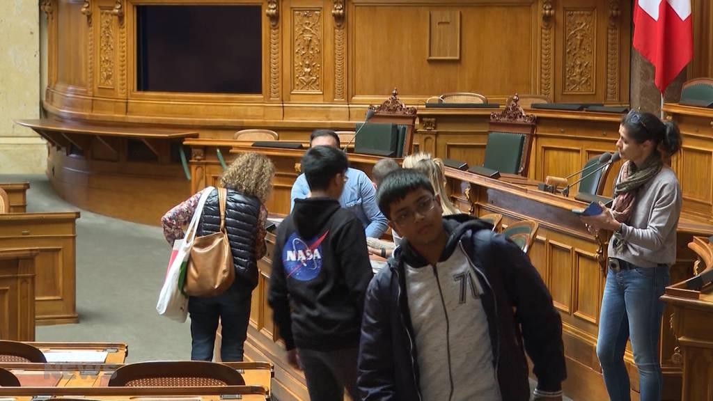 Tag der offenen Tür im Bundeshaus